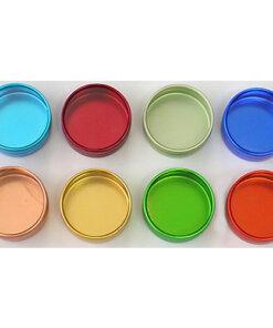 Aluminium Tins 36x19mm - A0059 + Colour