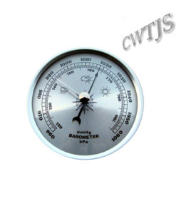 Barometer Fitup Silver 90mm - B90S