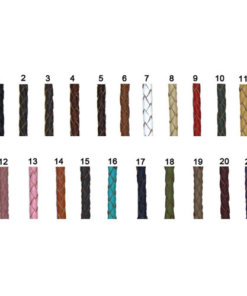 BOLO LEATHER 3mm - L016-B-3-Colour, L017-B-4- COLOUR, L019-B-5-COLOUR