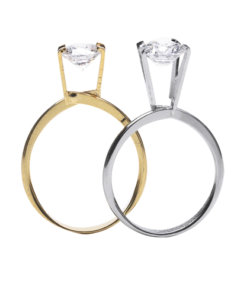 Display Ring Gold or Silver - R0086