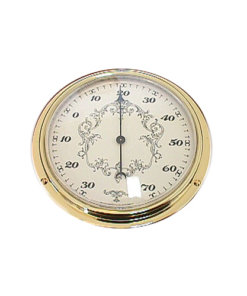Surface Mount Thermometer Cream 109mm - ThCr2