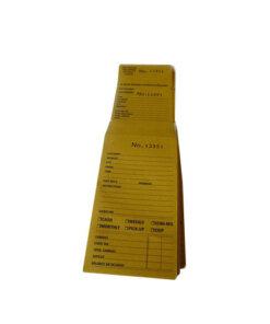3 Way Job Card Repair Management - J015
