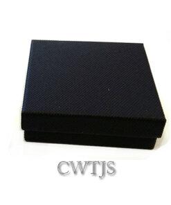 Black Jaquer Cufflink box - J0052