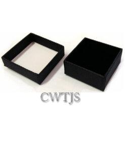 Black Jaquer Ring Box - J0068