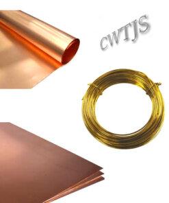 Pewter Brass Nickel Steel & Copper